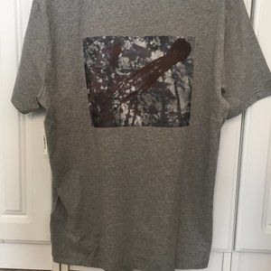 Tops - Grey T-Shirt - Printed with Owner's Artwork